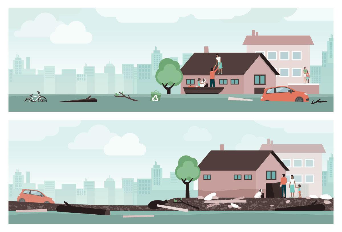 警戒レベルとは何か 洪水ハザードマップ併用避難計画