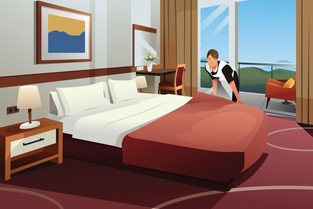 ホテルの客室はなぜ無臭なのか