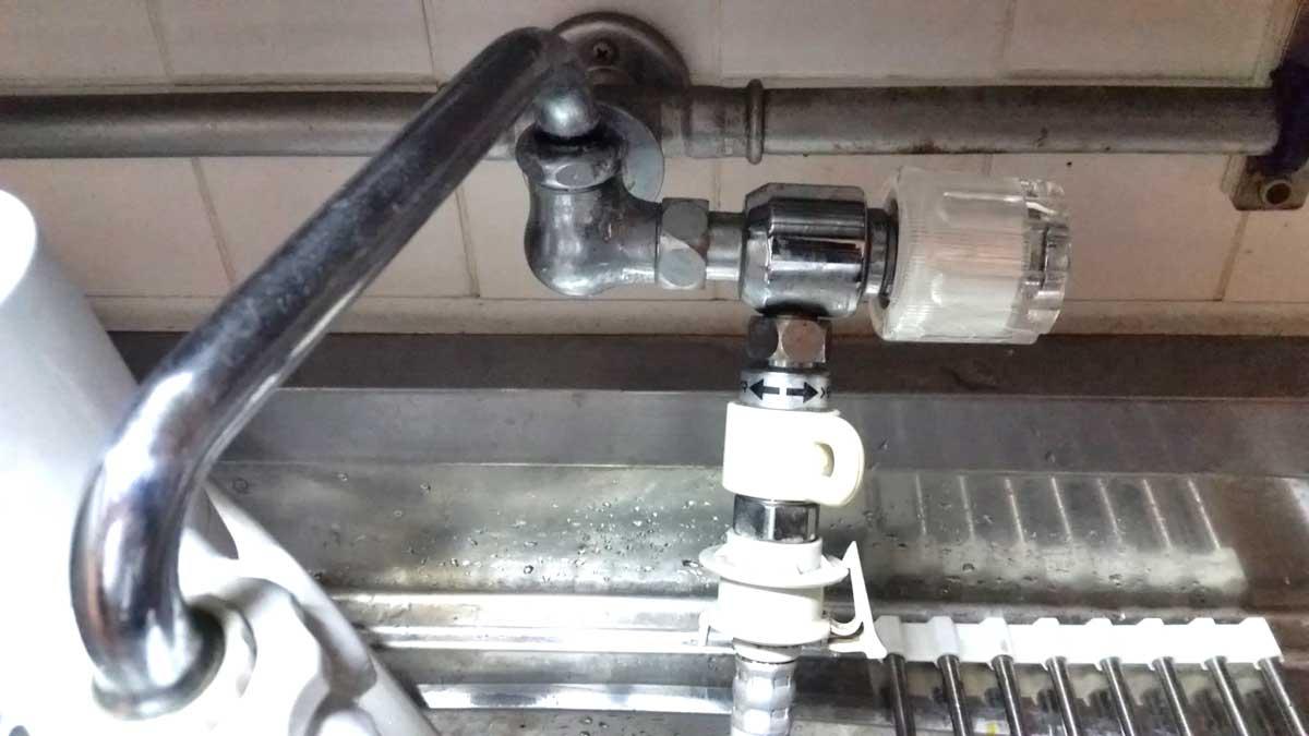 台所の蛇口