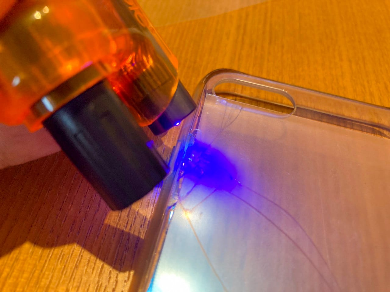 透明型枠ごとUV照射可能