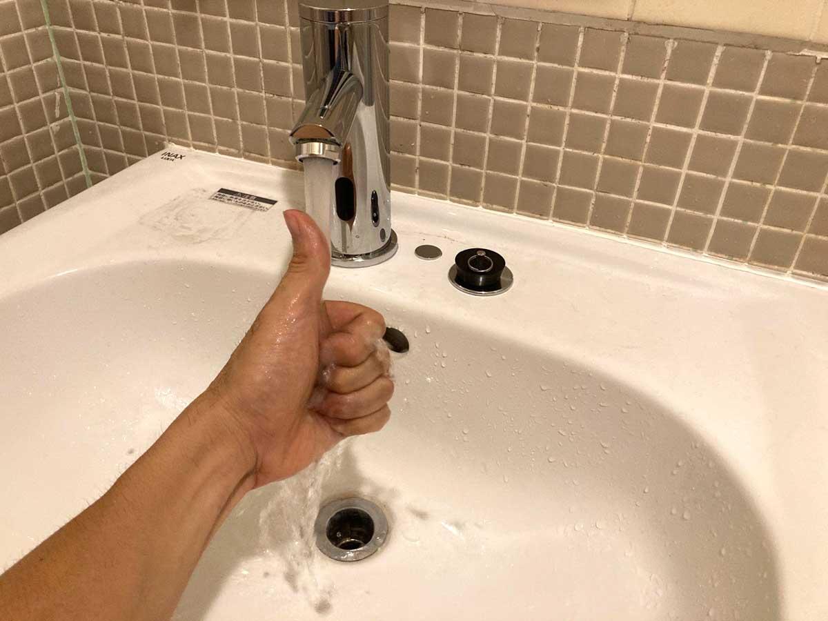 通水テスト成功