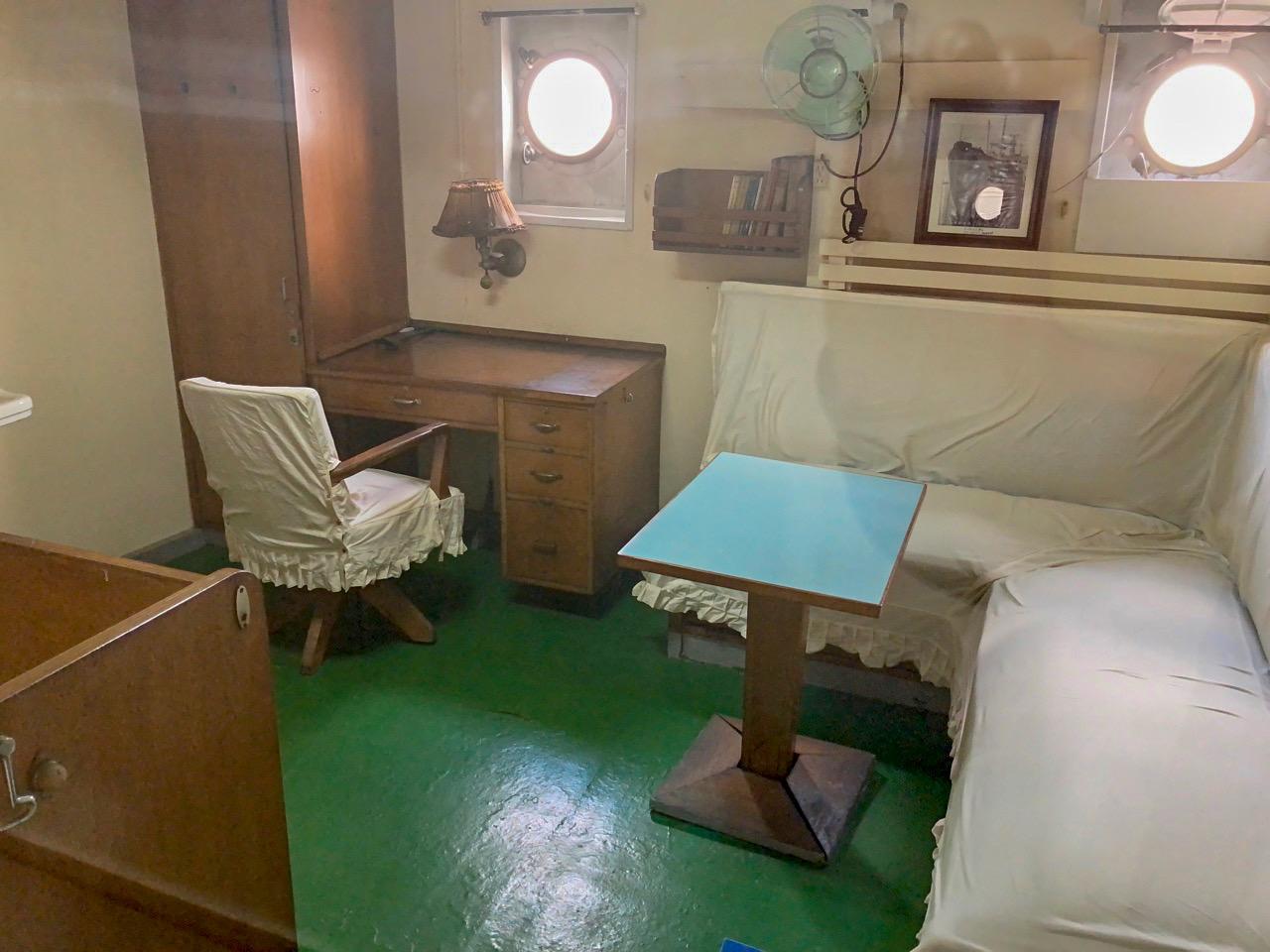客船さながらの部屋もあり