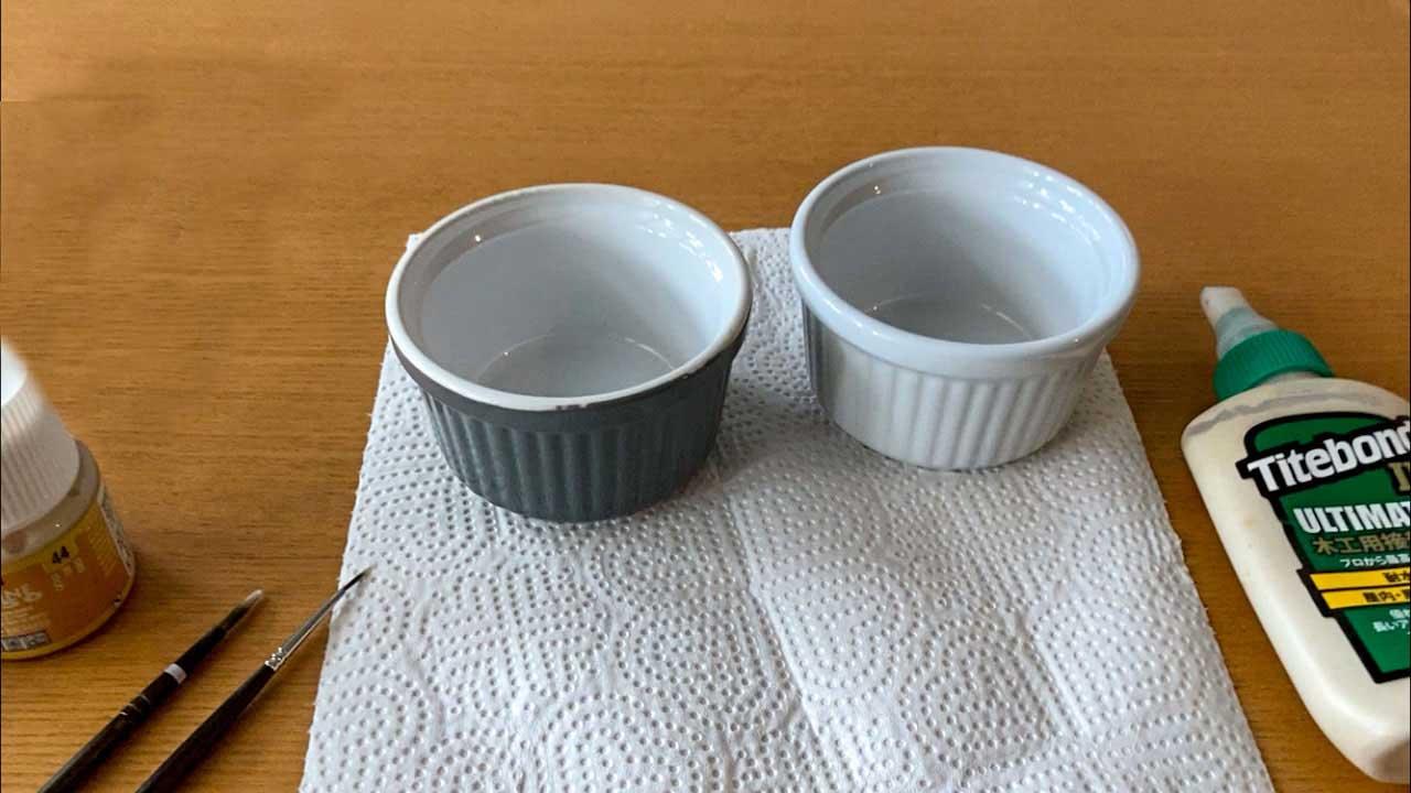 ペア陶器デザインの制作