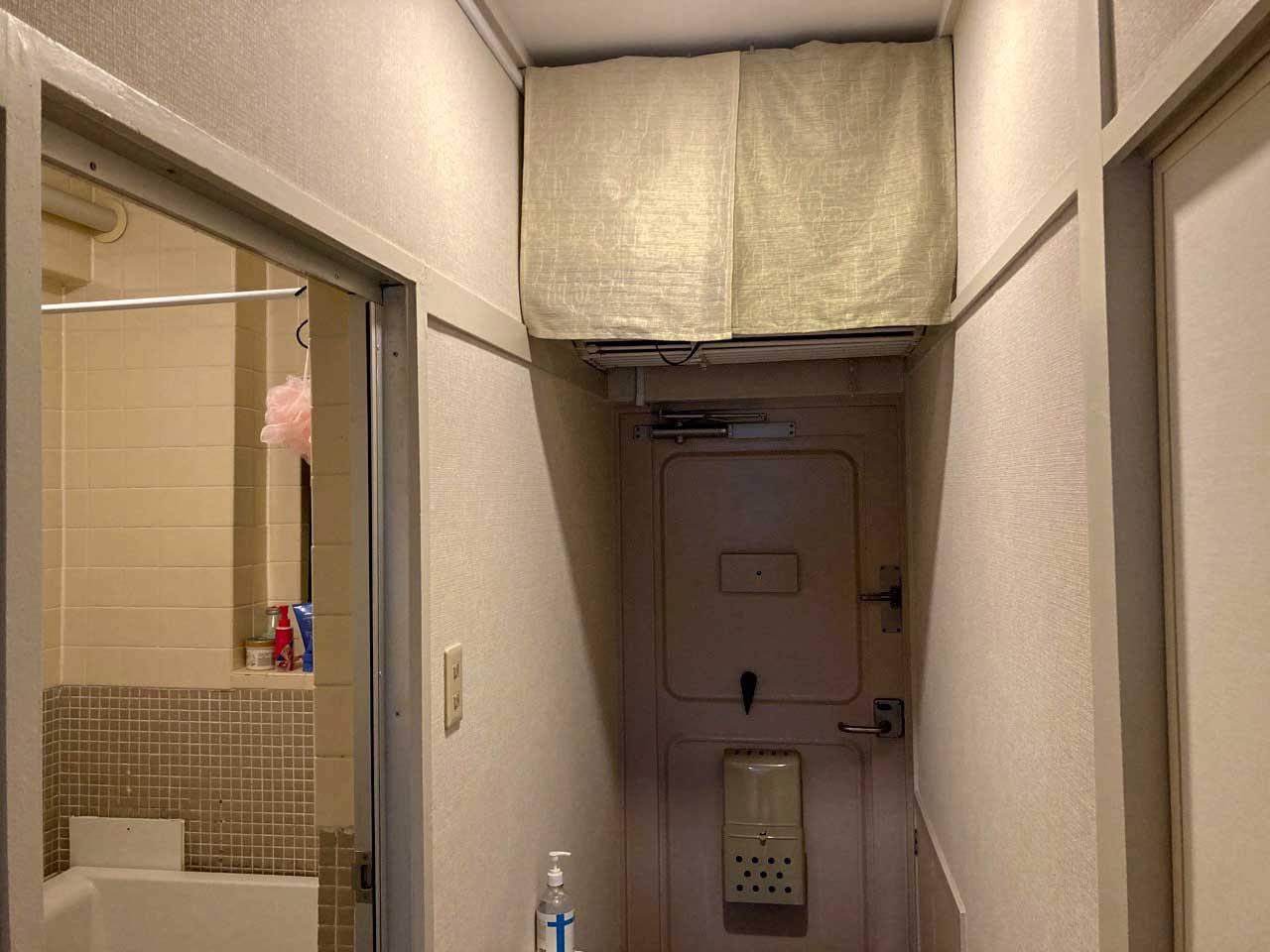 スペースがない場合、天袋をDIYして空中に収納する