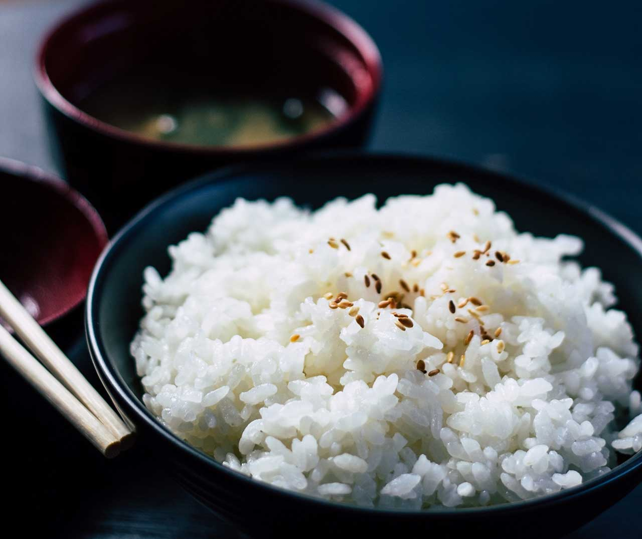 炊き立ての香り高き、あのうまい米